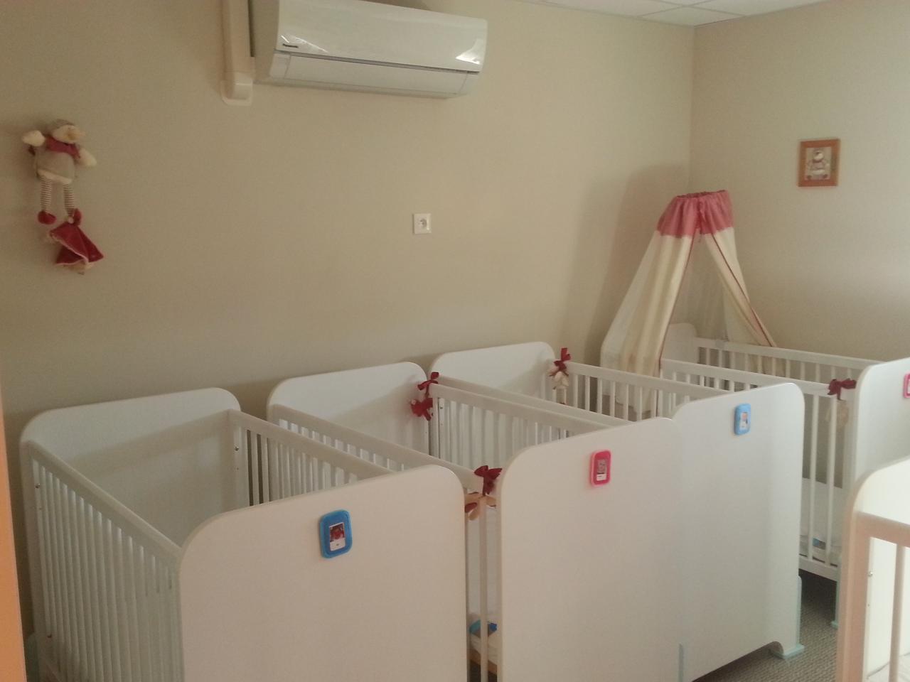 Dortoir des bébés