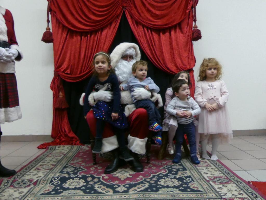 Maya, Milo, Kinaly, Sann et Giulia...
