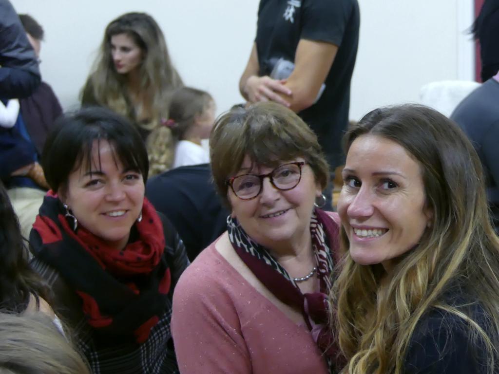 Adry, Olivia et maman de Rose...