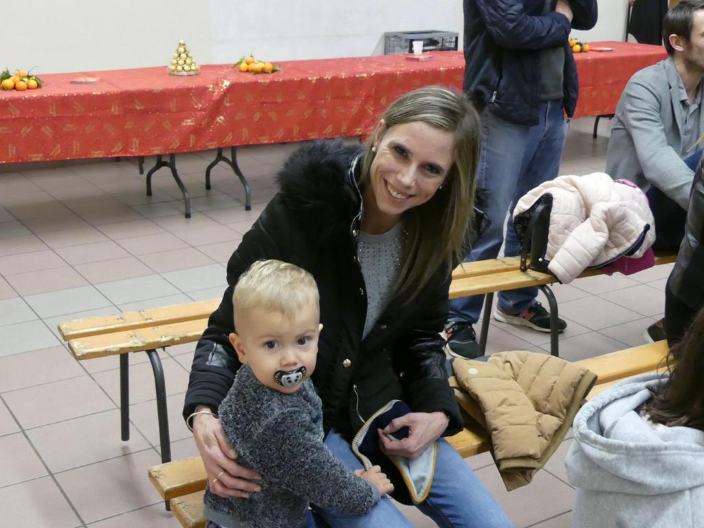 Luciano et sa maman...